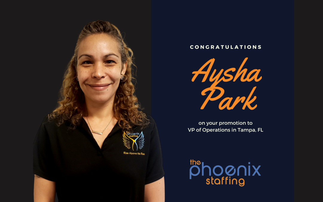 Ashya Park New VP of Operations, Tampa, FL