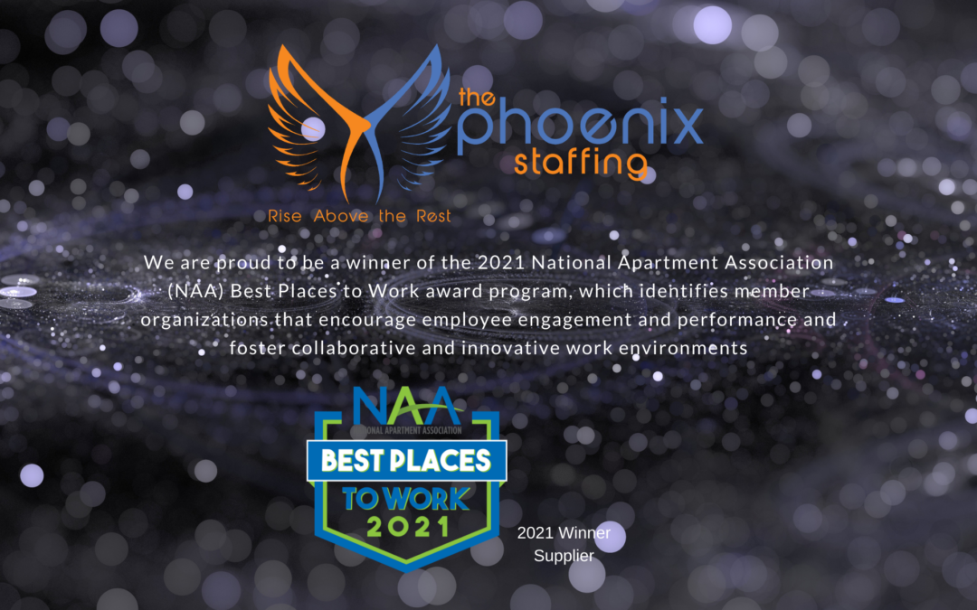 NAA Best Places to Work Award Winner