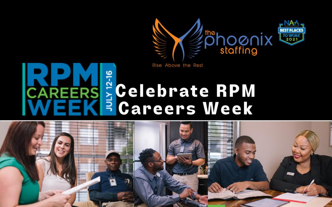 Celebrate RPM Careers Week